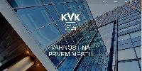 Webless - Slika prikazuje začetno stran kvk.si