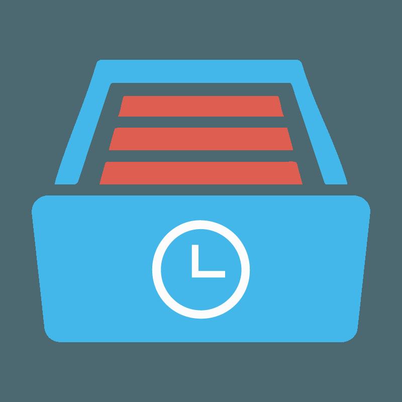 Webless - Slika prikazuje časovno arhiviranje spletnega mesta