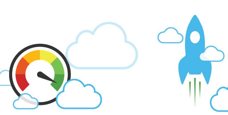 Webless - Slika prikazuje hitro delovanje spletnega mesta
