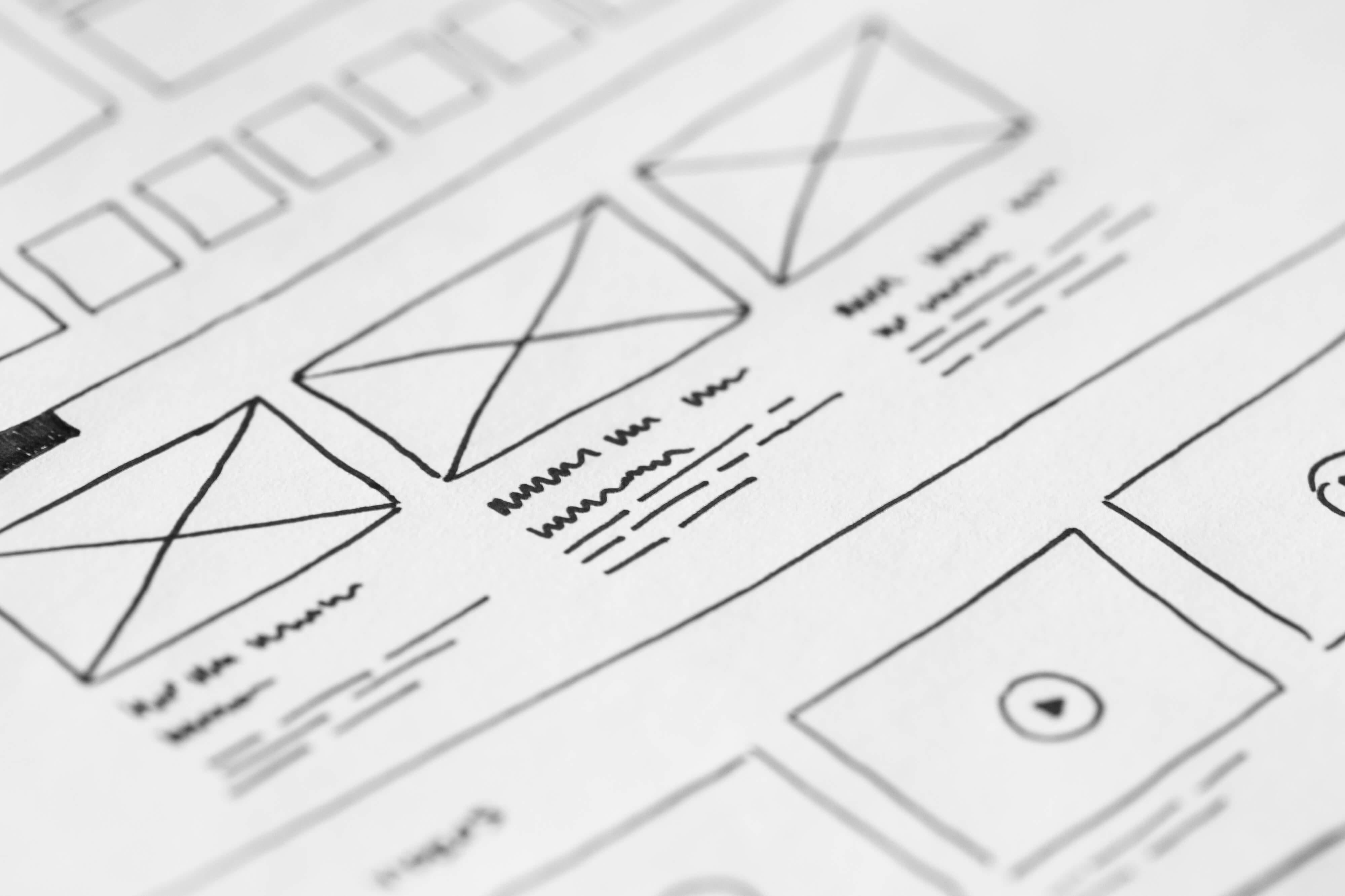 Proces načrtovanja spletnega mesta